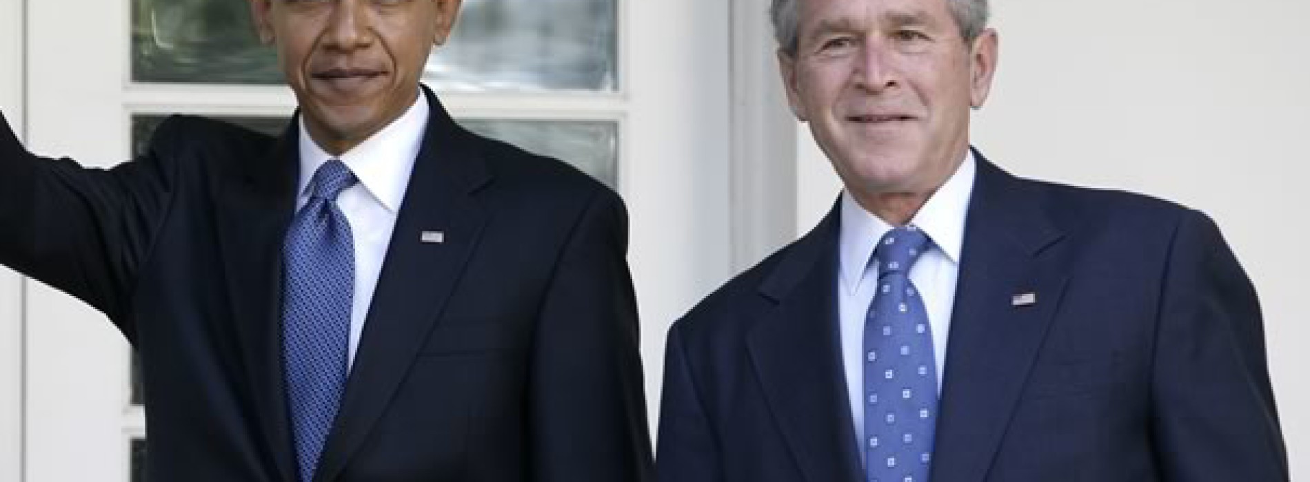 george w bush barack obama Obama shares the best advice he received from president george w bush face the nation  george w bush on donald trump, michelle obama,  barack obama comes out swinging as donald trump.