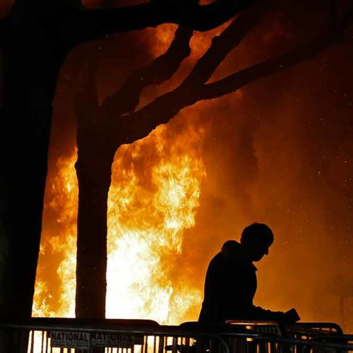 Hey, UC Berkeley rioters, conservatives can burn things, too!