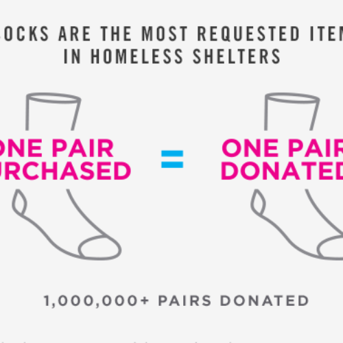 Bombas Brings Comfort to the Homeless, One Pair of Socks at a Time